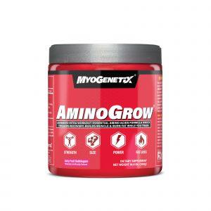 MYOGENETIX® AMINOGROW® HSP90 10.6 Oz. (60 Servings) Juicy Fruit Bubblegum Flavour