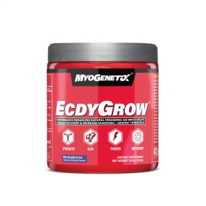 MYOGENETIX® ECDYGROW® 7.9 Oz. (45 Servings) Blue Raspberry Ice Flavour