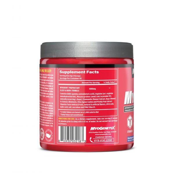 MYOGENETIX® MYOGROW® 7.9 Oz. (45 Servings) Blue Raspberry Ice Flavour